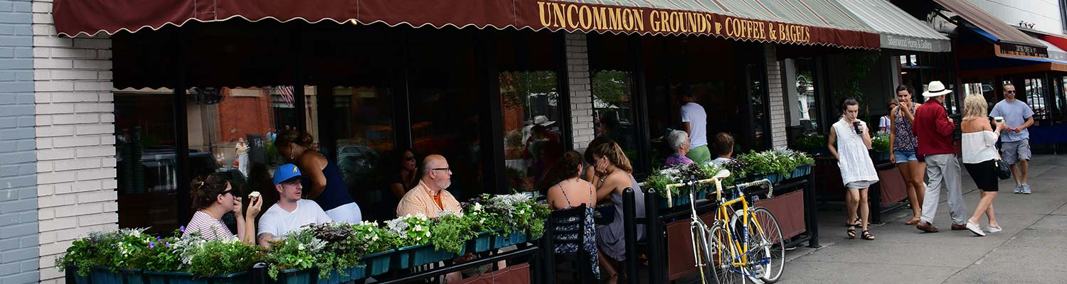 Uncommon Ground Cafe in Saratoga, NY