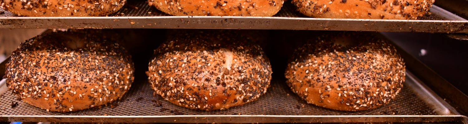Fresh Bagels Baked Daily